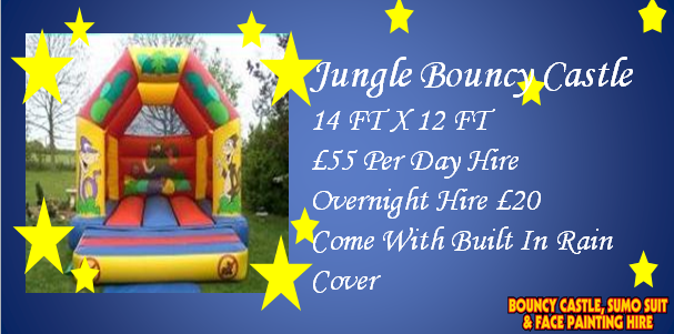 Jungle Bouncy Castle Hire Kent