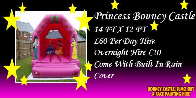 Princess Bouncy Castle Hire Kent