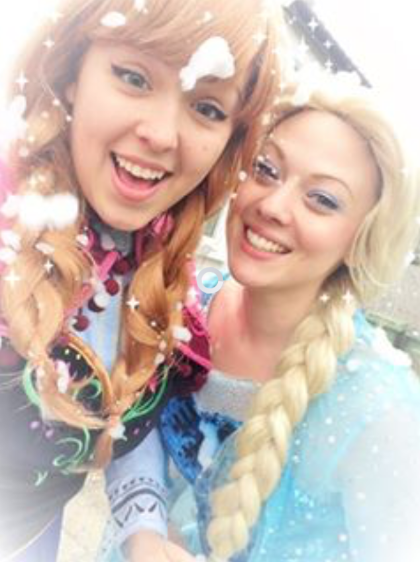 Frozen Anna Princess Parties Kent.
