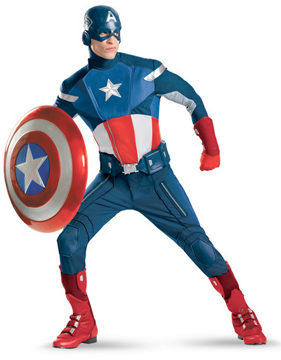 Captain Amercia Superhero Parties Kent