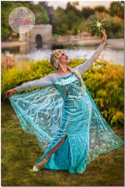 Elsa Frozen Parties Kent