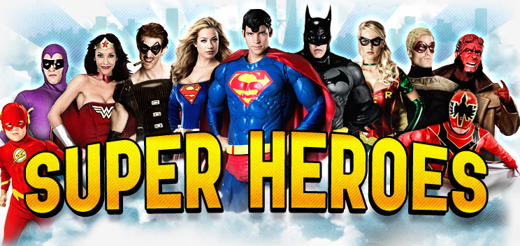 Superhero Partys Kent