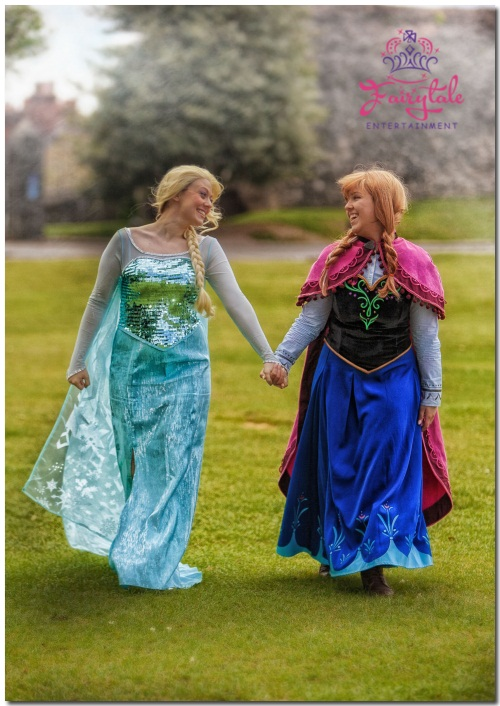 Elsa And Anna Parties Kent