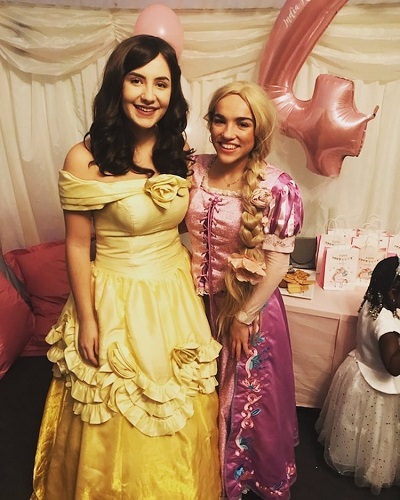 Belle And Repunzel Princess Parties Kent