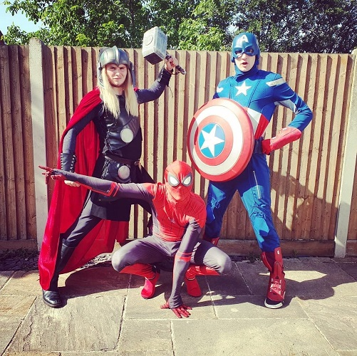 Superhero Parties Kent